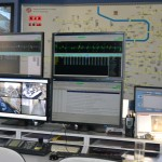 Tram dispatching centre - the leader seat
